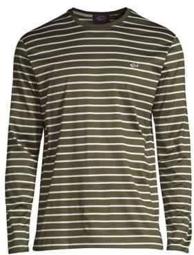 Paul & Shark Cotton Striped Long-Sleeve T-Shirt