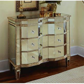 Hooker Furniture Renoir Mirrored 3 Drawer Chest
