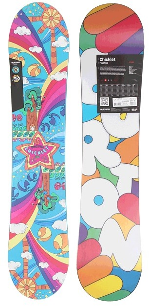 Burton Chicklet Youth 110cm (2013) (Multi) - Accessories