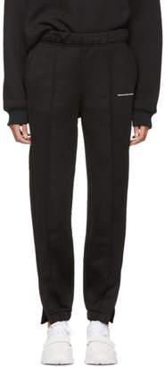 Alexander Wang Black Heavy Sleek Pull-On Lounge Pants