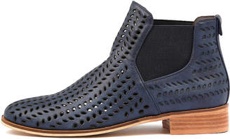 Ko fashion Brie-w Indigo Boots Womens Shoes Ankle Boots