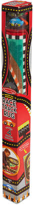 Melissa & Doug Kids' Round The Speedway Race Track Rug