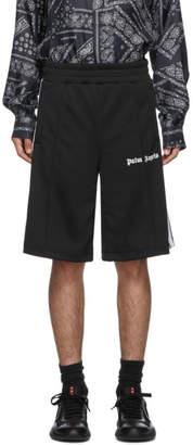 Palm Angels Black Track Shorts