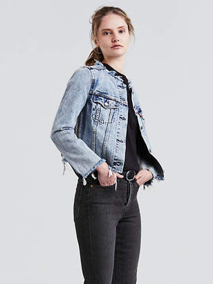 Levi's Altered Zip Trucker Jacket