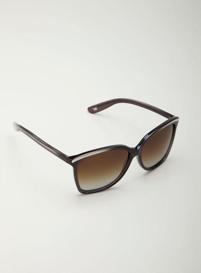 Bottega Veneta Large Cat Eye Sunglasses
