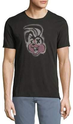 John Varvatos Green Day Rabbit Graphic T-Shirt