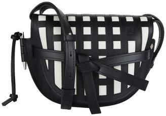 Loewe Small Grid Gate Bag