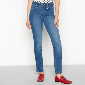 J by Jasper Conran Light Blue Mid Wash 'Shape And Lift' Slim Fit High Waist Straight Leg Jeans