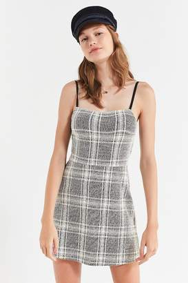 Urban Outfitters Cher Straight-Neck Mini Dress