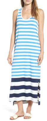 Vineyard Vines Striped Maxi Tank Dress