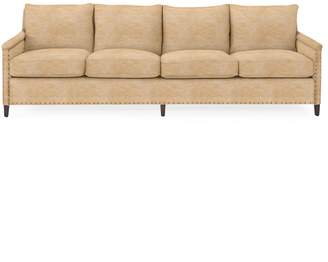 Serena & Lily Spruce Street 4-Seat Sofa with Nailheads