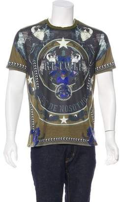 Givenchy Circle and Stars T-Shirt
