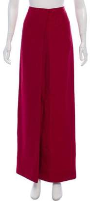 The Row Silk Maxi Skirt
