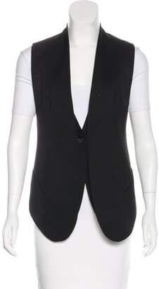 Helmut Lang Wool V-Neck Vest