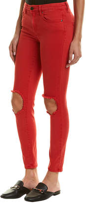 Blank NYC Better Off Red Skinny Leg