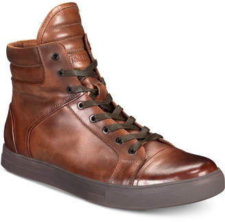 Kenneth Cole Reaction Men's Double Header High-Top Sneakers