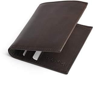 N. Style Craft 391103 Ladies Long Clutch Wallet in Oak Color Leather