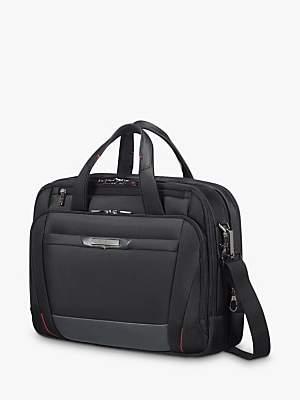 c22dd4d7f6 Samsonite Pro Dlx 5 Bail Handle 15 Laptop Briefcase, Black