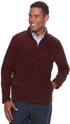 Croft & Barrow Men's Classic-Fit Easy-Care Stretch Fleece Quarter-Zip Pullover