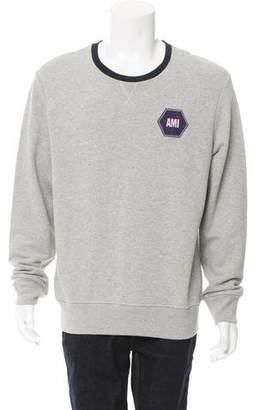 Ami Alexandre Mattiussi Embroidered Logo Sweatshirt w/ Tags