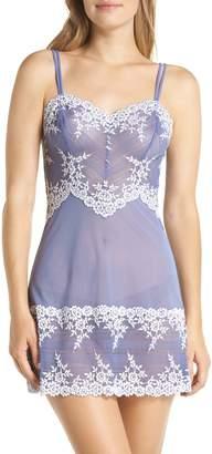 Wacoal 'Embrace' Lace & Mesh Chemise