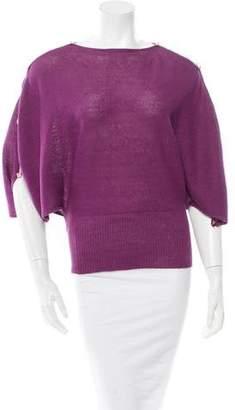 Fendi Knit Long Sleeve Top