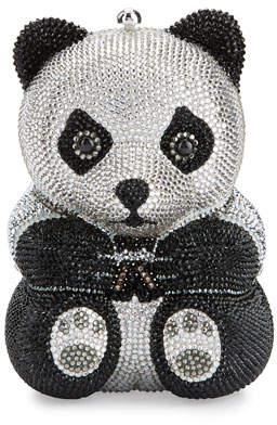 Judith Leiber Couture Ling Panda Evening Clutch Bag, Black/White
