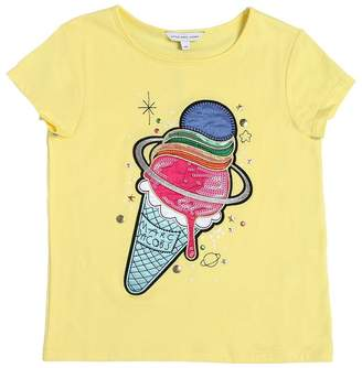 Little Marc Jacobs Ice Cream Patch Jersey T-Shirt
