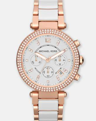 Michael Kors Parker Multi-Tone Chronograph Watch