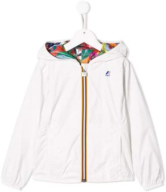 K Way Kids reversible bomber jacket
