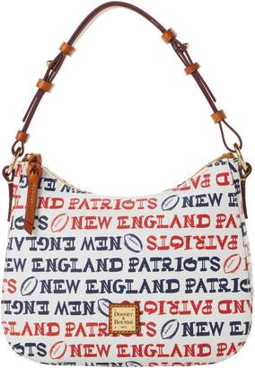 Dooney & Bourke NFL Patriots Small Kiley Hobo