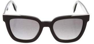 Fendi Oversize Tinted Sunglasses w/ Tags