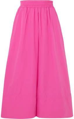 MDS Stripes - Gaucho Cotton-poplin Culottes - Pink