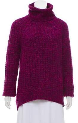 Tibi Rib-Knit Turtleneck Sweater