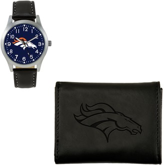 Nfl Sparo NFL Black Watch and Wallet Gift Set