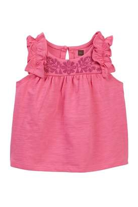Tea Collection Myrtle Embroidered Top (Baby & Toddler Girls)