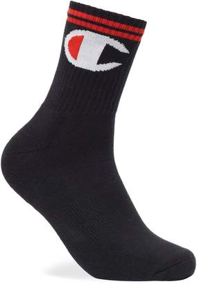 Champion Men's Logo Crew Socks