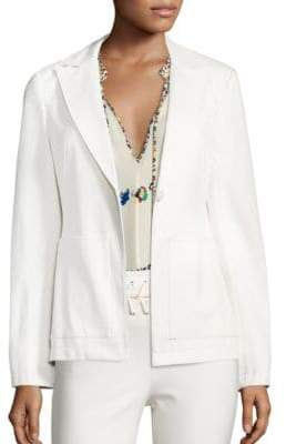 Derek Lam Patch Pocket Blazer