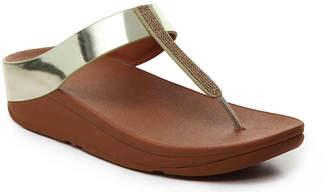 FitFlop Fino Crystal Wedge Sandal - Women's