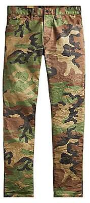 Polo Ralph Lauren Men's Sullivan Stretch Slim Camouflage Jeans