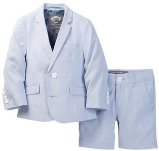 Appaman 2-Piece Seersucker Short Suit Set (Toddler, Little Boys, & Big Boys) $150 thestylecure.com