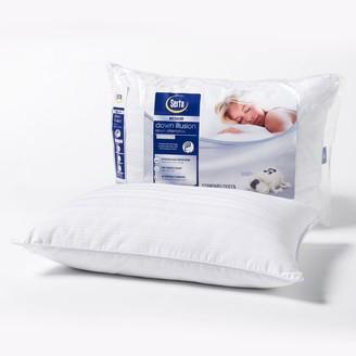 Serta Down Illusion Medium Bed Pillow