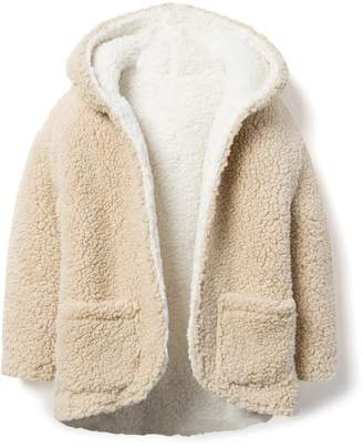 Crazy 8 Crazy8 Reversible Sherpa Hooded Jacket