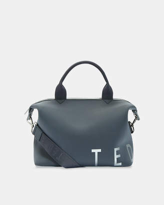 Ted Baker LINNA Branded neoprene small tote bag