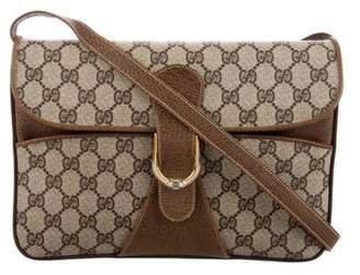 Gucci Vintage GG Canvas Crossbody Bag