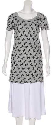 See by Chloe Printed Short Sleeve Tunic