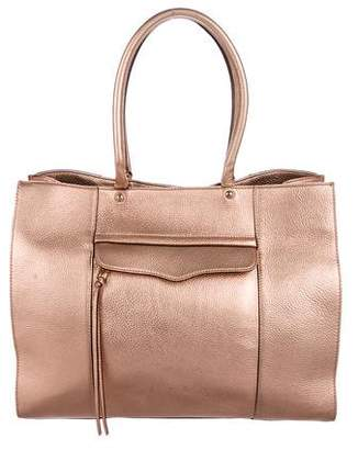 Rebecca Minkoff Metallic Leather MAB Tote