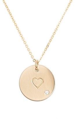 Women's Nashelle Diamond Pendant Necklace $125 thestylecure.com