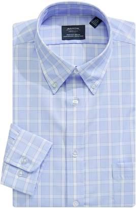 Arrow Plaid Regular-Fit Dress Shirt