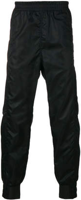 Helmut Lang crinkled track trousers
